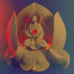 Лотос, Будда
