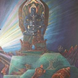 «Проявление Вседержителя» (северная сторона посвящается Вишну)