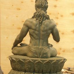 Вишвамитра (вид сзади)