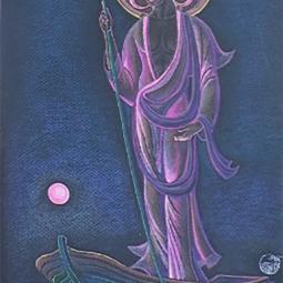 «Мудрый подобен старцу на рассвете в ладье, плывущему по глади озера - туда куда пожелает»