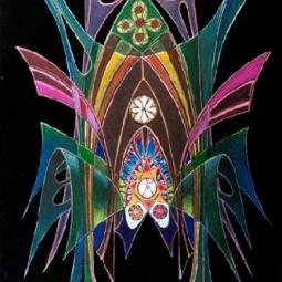 Бабочка в невесомости