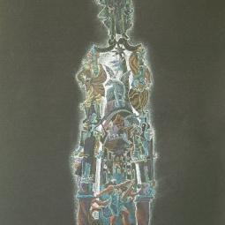 Дягилев. Сторона, посвященная театральному искусству Пабло Пикассо в Дягилевских сезонах.