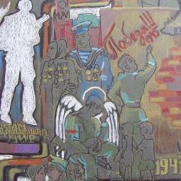 Эскиз монумента по мотивам детских рисунков 2