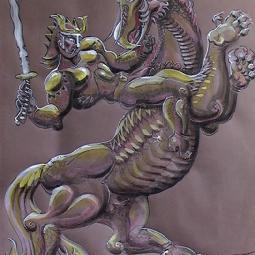 Всадник на огненной лошади