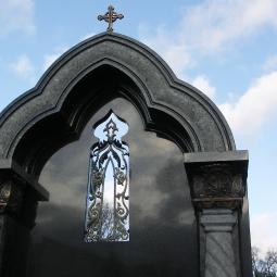 Памятник Городецкому (фрагмент надгробия)